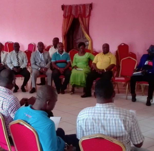 Atelier participatif pour le développement d'Oyem au Gabon
