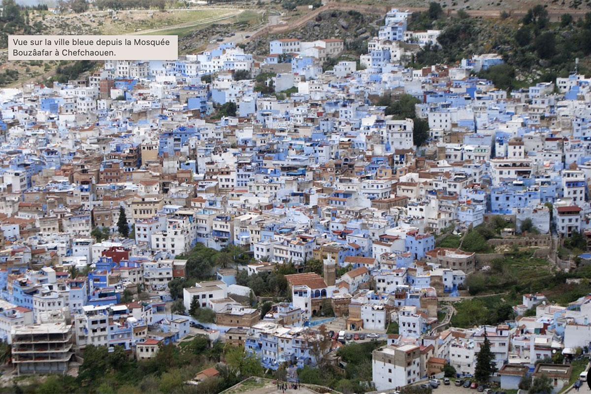 Chefchaouen, ville moyenne du Rif marocain